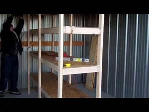 how to build cheap shelves garage storage youtube With cheapest garage to build