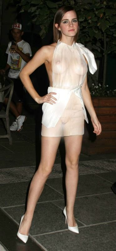 Emma Watson See Through Dress Boobs Big Tits Pussy Celebrity Leaks Scandals Leaked Sextapes