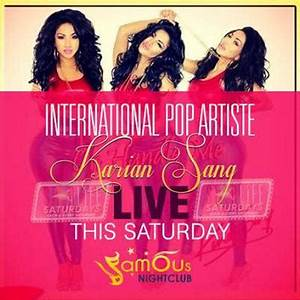 International Pop Artiste Karian Sang to Perform at Famous ...