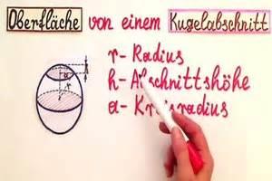 Kreisabschnitt Berechnen : video kugelabschnitt formel ~ Themetempest.com Abrechnung