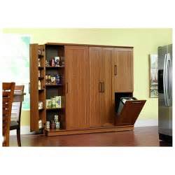 sauder homeplus storage cabinet sienna oak finish