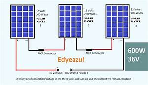 Edyeazul Solar  U0026 Electronics   Series Connection Of Solar