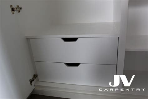Wardrobe With Drawers Underneath by Wardrobes Interior Layouts Jv Carpentry