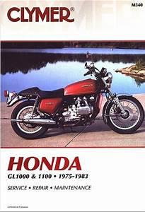 Honda Gl1000 And Gl1100 Goldwing Manual
