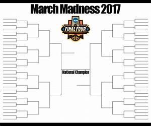 March Madness 2017 Bracket 2017 March Madness Bracket