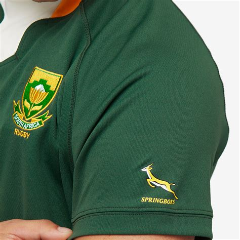 asics south africa rugby world cup  home replica shirt