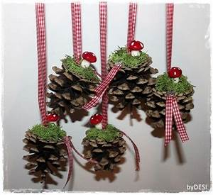Die Schönsten Weihnachtsdekorationen : mit tannenzapfen kann man die sch nsten dingen machen die 12 sch nsten deko ideen mit ~ Markanthonyermac.com Haus und Dekorationen