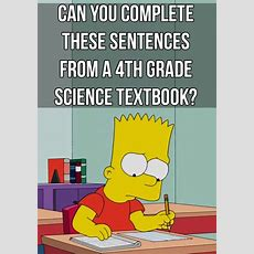 Would You Pass Fourthgrade Science Today?  School Materials, Middle And Dr Who