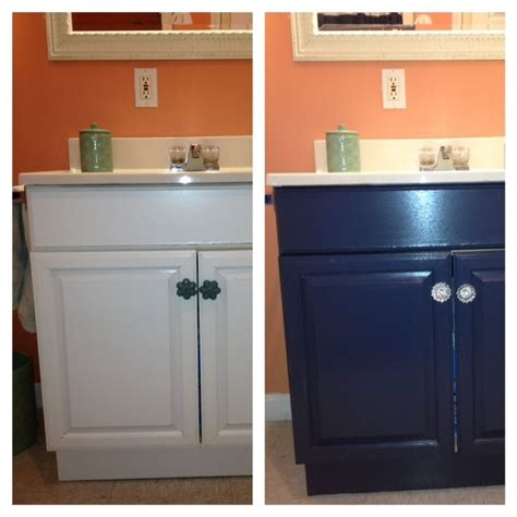 Painting Laminate Bathroom Cabinets - painting a laminate bathroom vanity diy projects diy
