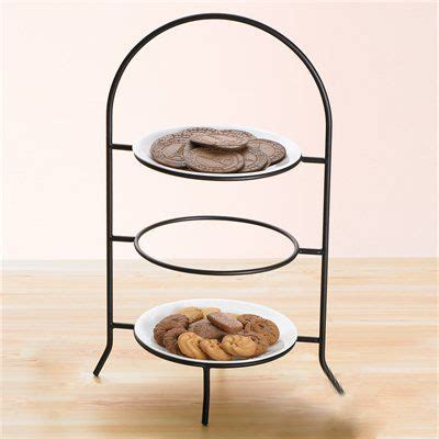 creative home  iron works metal  tier dinner plate rack iron works metal  tier dinner