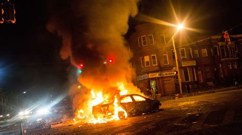 riots  destructive dangerous  scary   lead