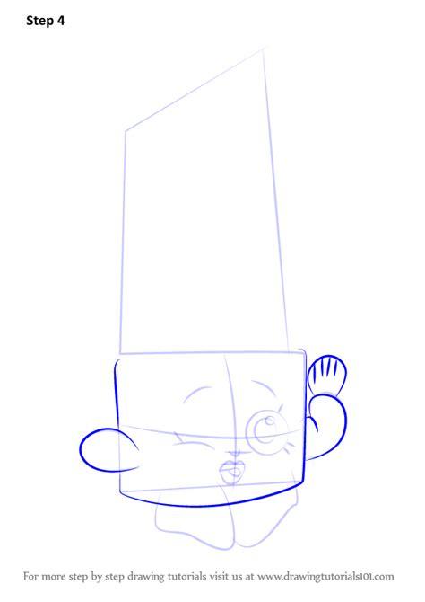 learn   draw lippy lips  shopkins shopkins step