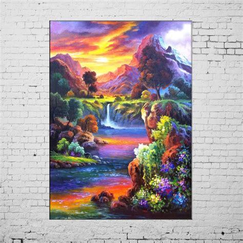 Moderne Acrylbilder Auf Keilrahmen by Aliexpress Buy New Paintings Painted