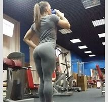 Candid Workout Pic Of Russian Stawweight Fighter And Bodybuilder Aleksandra Albu If You Love
