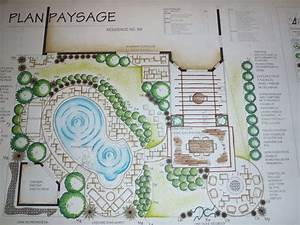 Plan d39amenagement paysager scenes de jardin pinterest for Idees pour la maison 2 amenagement paysager lacourse conseils