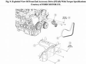 2010 Ford Escape Busted Serpentine Belt  The Serpentine