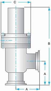 Pneumatic Bellows Sealed Ss Angle Valves  Kf Flanged