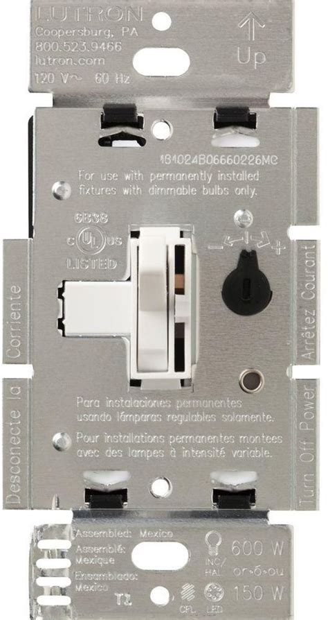 led light dimmer toggle switch slide bulbs cfl 150