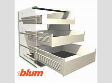 Blum Drawer Runners Soft Close 563H Series BLUM Tandem