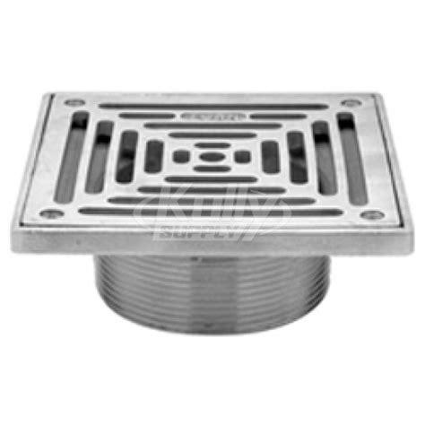 Zurn Floor Sink Strainer by Zurn Z400 Type Ss Square Floor Drain Strainer