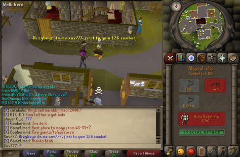 Runescape Forum Community Forums For 1st Maxed Combat 126 In Runescape 2007 Single