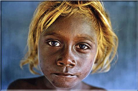 Black Haired Person by Melanesians On