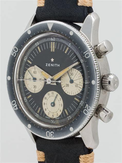 wanna buy   zenith  divers chronograph circa