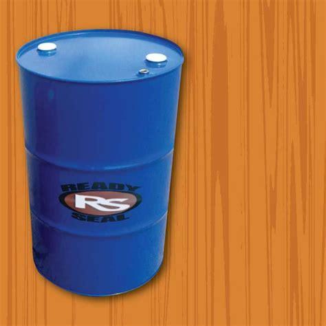 ready seal  gal drum natural cedar exterior wood stain