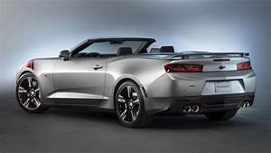 2015 Chevrolet Camaro SS Convertible Red Accent Concept