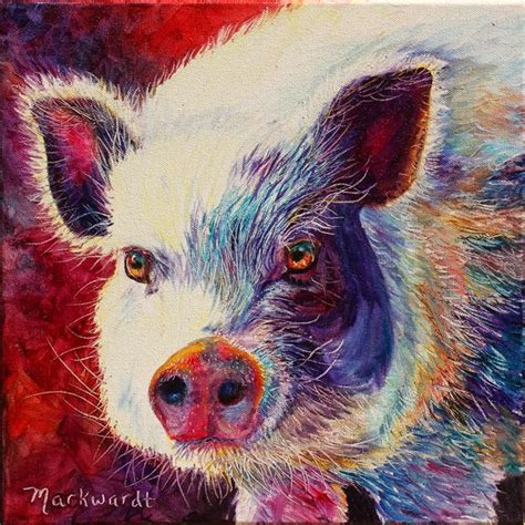 11 best images about Art PIg on Pinterest   Oil on canvas