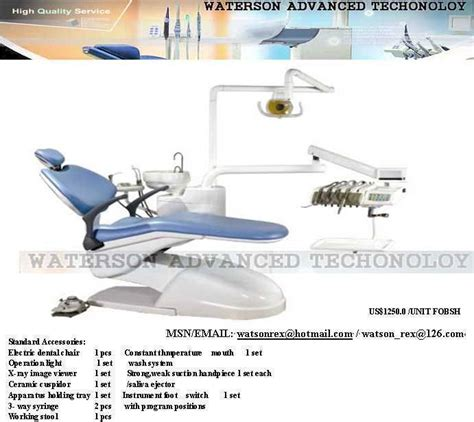 dental unit chair parts selection watson advanced