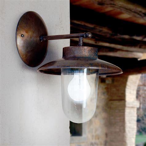 applique rame applique la traviata di aldo bernardi in rame vetro e ottone
