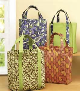 Shopping Bag Fabric Pattern
