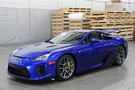 Photo Image Gallery & Touchup Paint: Lexus Lfa in Pearl ...