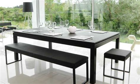 black powder coated table fusion tables tm