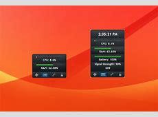 Small System Monitor Windows 10 Gadget Win10Gadgets
