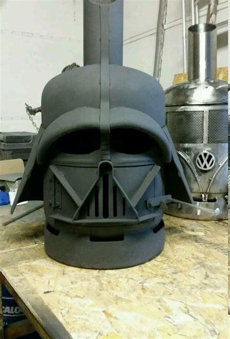 Chimenea Log Burner by Wars Darth Vader Style Patio Heater Gas Bottle Wood