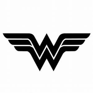Wonder Woman Symbol Stencil … | Pinteres…