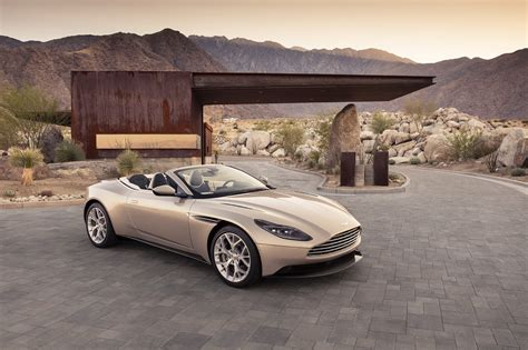 aston martin front aston martin db11 volante is one convertible
