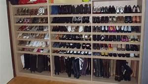 Placard à Chaussures : armoire meuble chaussures dans une villa de grez doiceaux mt design ~ Teatrodelosmanantiales.com Idées de Décoration
