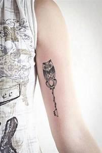 Tatouage Chouette Signification : 100 tatouages chouette et hibou et leur signification ~ Melissatoandfro.com Idées de Décoration