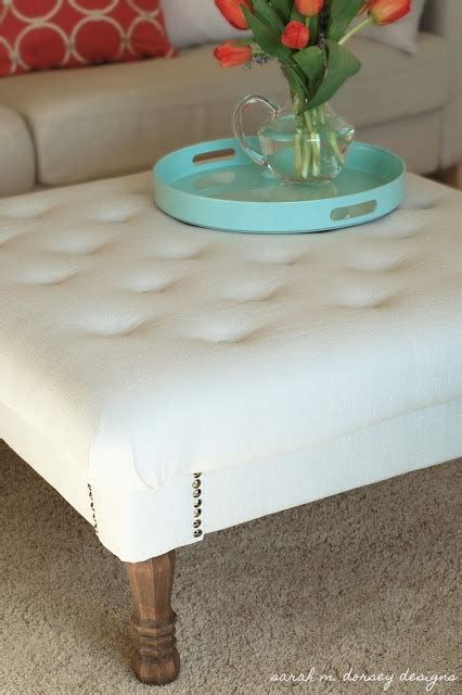 Where To Buy Ottoman - diy tufted ottoman tutorial with price breakdown and where