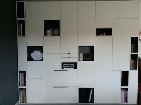 Ikea Schrank Wand by Idee F 252 R Die Schrankwand Im B 252 Ro Im Og Wohnen In 2019