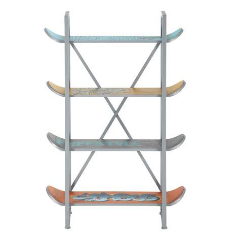 planche bureau etagère skate pour chambre ado
