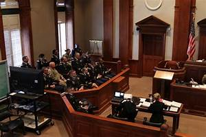 Mock Court Martial In Alabama Sets The Bar For Training