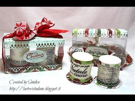 Composizione Candele by Composizione Candele Tutorial Idea Regalo Natale