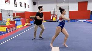 laurie hernandez absolutely killed it on her first episode With hit the floor dance routines
