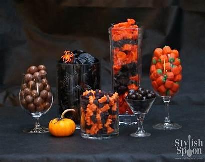 Halloween Candy Buffet Grownup Stylish Stylishspoon