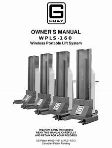Gray Wpls Security Transceiver User Manual Wpls 160