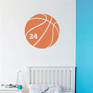 Basketball wall decals roselawnlutheran for Basketball wall decals